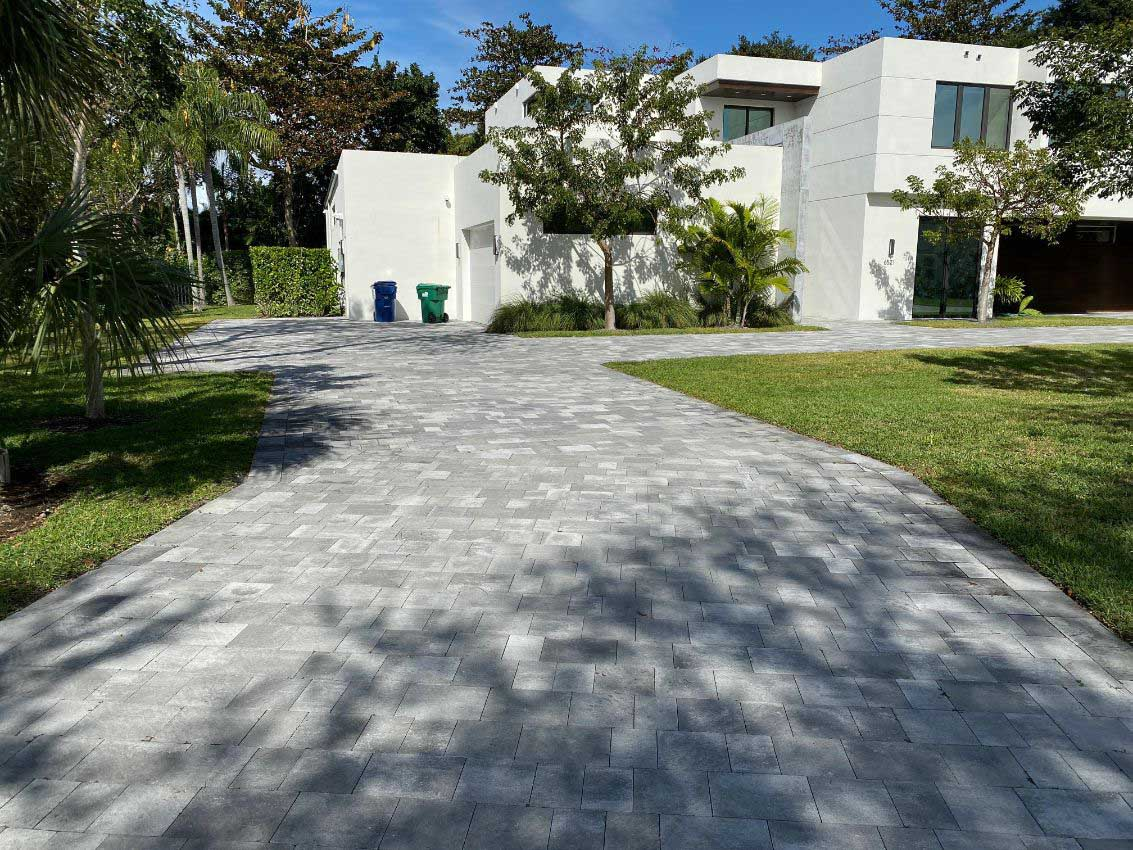 excellent driveway paving installation in fort worth TX